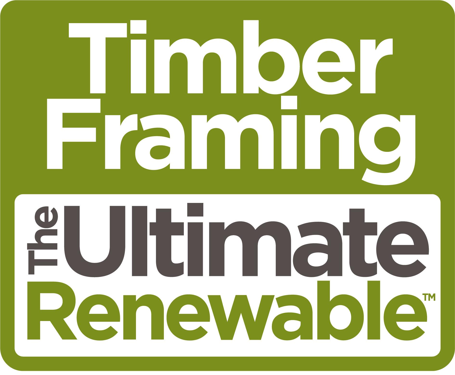 Timber Framing Ultimate Renewable Logo