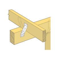 Nail On Diagonal Cleats